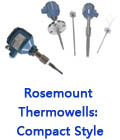 Rosemount Thermowells: Compact Style