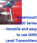 Rosemount 3300 Series - Versatile and easy to use GWR Level Transmitters